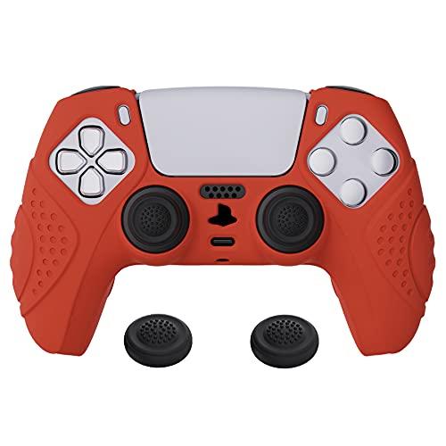 funda anti deslizante silcona control playstation 5 red