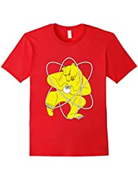 Zheleznogorsk Bear Splitting Atom T-Shirt | Russian Flag