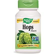 Hops Flowers 100 Capsules (Pack of 2)