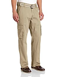 Lee Men's Relaxed-Fit Utility Belted Cargo Pant
