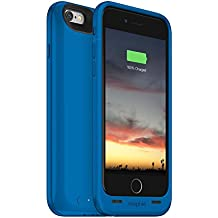 Mophie Juice Pack Air - Slim Protective Mobile Battery Pack Case for iPhone 6/6s – Blue (Certified Refurbished)