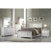 Alpine Furniture Winchester Shutter Mansion Panel Bed