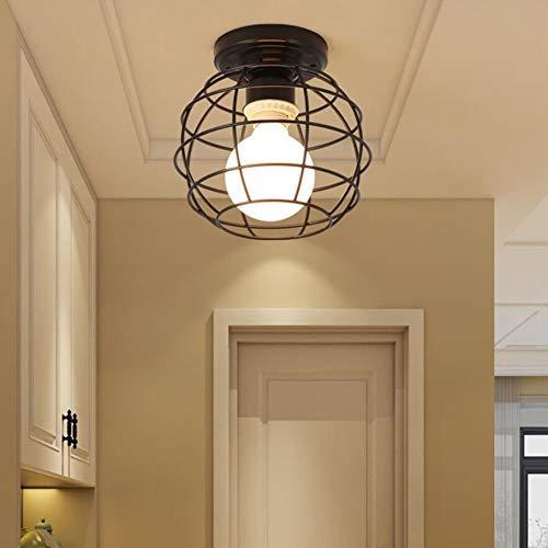 MTX Ltd Deckenleuchte Kreative Flurlichter Nordic Schmiedeeisen Eingangstür Einstiegsleuchte Einfache Gang Balkon Lichtraum Deckenleuchte