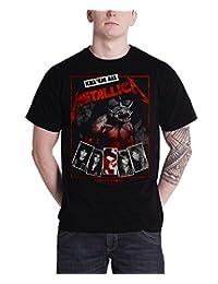 Metallica T Shirt Hell On Earth Tour Kill em all new Official Mens Black