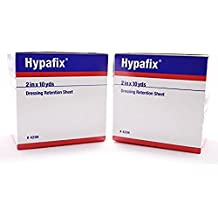 Hypafix Dressing Retention Tape 2 Inch x 10 Yards - Pack of 2 Rolls