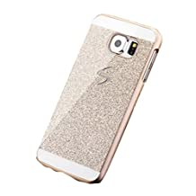 For Samsung Galaxy S5 Case, Luxury Hybrid Shiny Sparkling PC Hard Bling Glitter Back Case (Samsung Galaxy S5, gold)