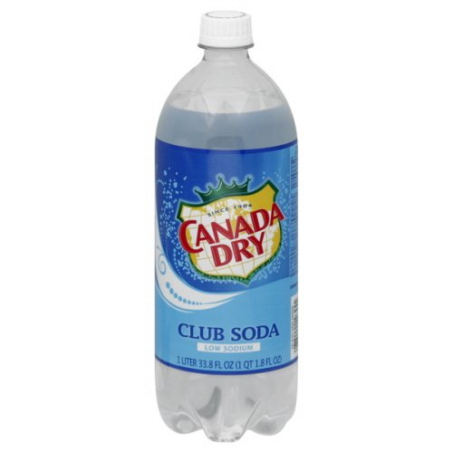Canada Dry Club Soda Soft Drink, 33.82-Ounce (Pack of 15)