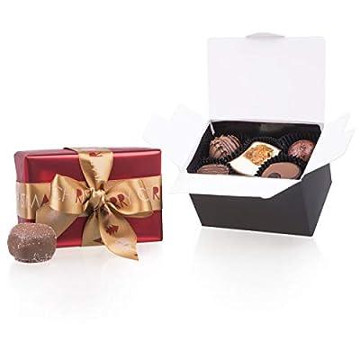 Xmas Ballotin Petit – 10 Edle Pralinen | Weihnachtspralinen | Weihnachtsgeschenk | Weihnachtsschokolade | Weihnachtspräsent | Mitbringsel | Erwachsene | Schokolade | Geschenkidee | Weihnachten