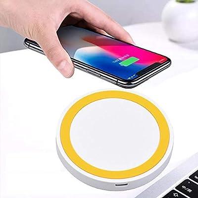 Fdisume - Cargador inalámbrico portátil Ultrafino Qi para iPhone ...