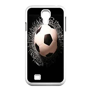 [H-DIY CASE] For SamSung Galaxy S4 Case -Love Football-CASE-4
