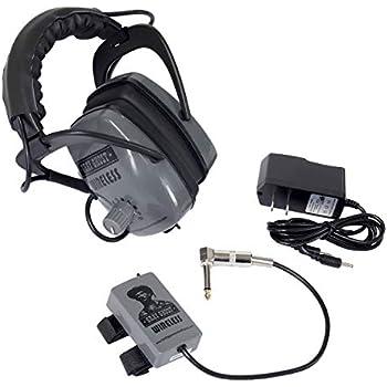 Gray Ghost Wireless Headphones for Minelab Metal Detectors