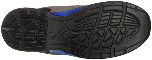 Diadora Samba Super, Men's Sneaker low neck, Black (Grigio/blu Nautico), 12 UK (47 EU)
