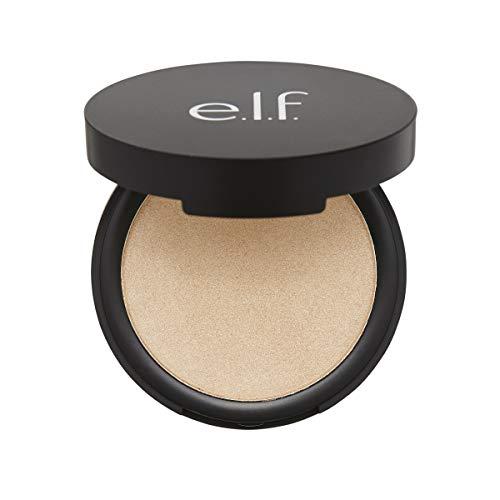 (e.l.f. Cosmetics Shimmer Highlighting Powder, Illuminating Face Makeup, Starlight Glow, 1 Count)