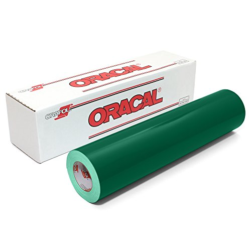Oracal 651 Glossy Vinyl Roll 24 Inches by 150 Feet - Forest Green by ORACAL