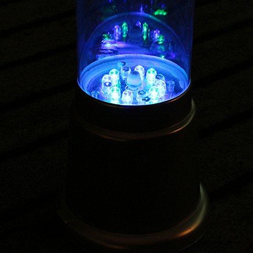 Bubble Tube Floor Novelty Lamp With Fish : Easylife_GMF Sensory LED Bubble Tube Color Changing LED Novelty Aquarium Sensory Bubble Fish ...