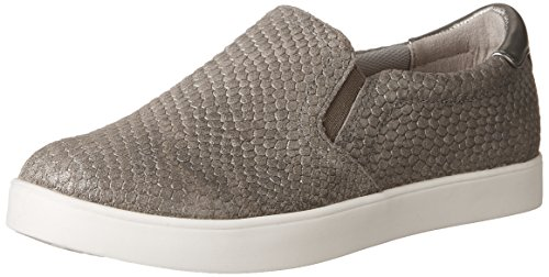 Dr. Scholl's Women's Scout - Original Collection Grey Snake Embossed Leather 9 M US (Dr Scholls Womens Madison Slip On Sneaker)