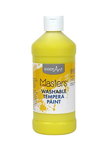 (Handy Art Little Masters Washable Paint 16 ounce, Yellow )