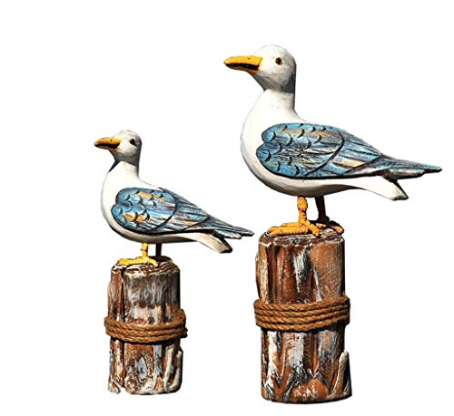 Decorative Home Crafts Wedding Halloween Birthday Christmas Party Seabird Simulation Bird Art for $<!--$54.92-->
