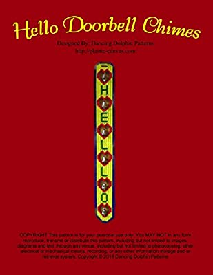 Hello Doorbell Chimes: Plastic Canvas Pattern