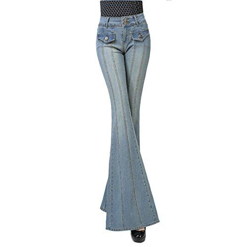 Moshow Jeans dcontracts pour femmes Svelte Night out pantalon mince