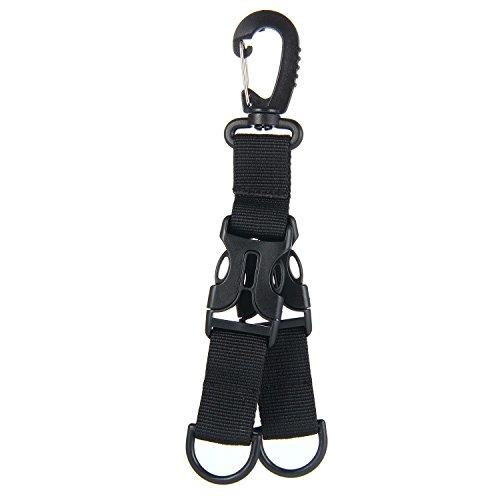 Tactical Military Karabiner Clip Klettern Molle Tasche D-Ring Schnalle KeyRing