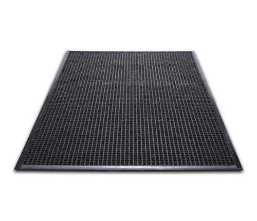 Guardian WG030504 WaterGuard Wiper Scraper Indoor Mat 36 x 60 Charcoal, 36 x 60, Charcoal