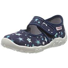 superfit Bonny, Zapatillas de Estar por casa Niños, Azul (Blau 81), 29 EU