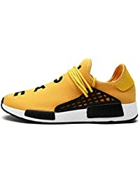 Fashion Light Breathable Lace-up Men Shoes Zapatilla Deportivas Mujer Human Race Casual Shoes Unisex