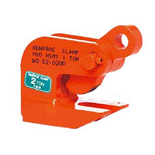 日本クランプ 【2個】横吊り専用クランプ HSMYタイプ HSMY1 使用荷重 1(0.5×2個)t 使用有効寸法 3~35mm コT【代不】 B06WRSWMC6