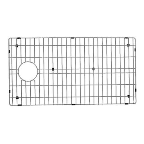 Nantucket Sinks BG3218-OSD Stainless Steel Bottom Grid, Silver by Nantucket Sinks by Nantucket Sinks