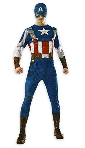 Captain America Retro costume (Adult) (XL) (Costume Capitan America Woman compare prices)