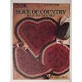 Slice of Country Rugs to Crochet Craft Book