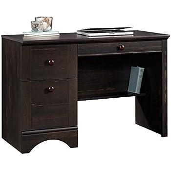 Amazon Com Sauder Harbor View Computer Desk Antiqued