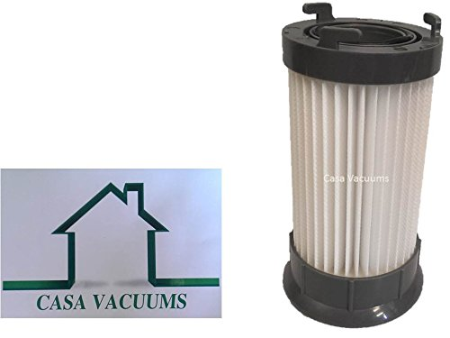 Ge Parts Vacuum - Casa Vacuums Eureka DCF-4 DCF-18 Washable & Reusable Long-Life Vacuum Filter; Replaces Eureka GE DCF1 DCF4 DCF18 Part # 62132 63073 61770 3690 18505 28608-1 28608B-1