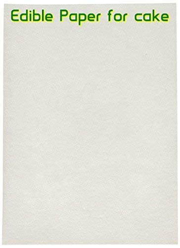 Edible Rice and Wafer Paper, 8 by 11-Inch/Wafer Paper (200 pack) by The Bakers Pantry (Image #2)