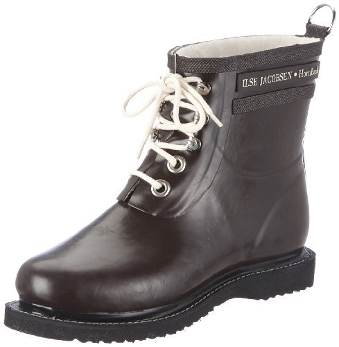 Women's 2 Rain ILSE Brown Boot JACOBSEN Rub ZAwCxfq