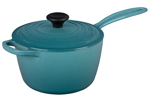 (Le Creuset of America Enameled Cast Iron Sauce Pan, 2 1/4-Quart,)
