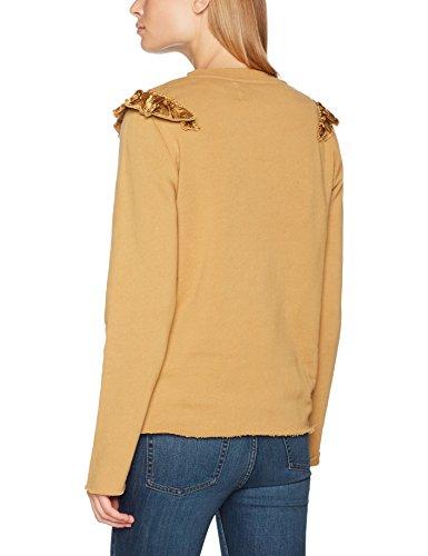 amp; Sweat Leon Beige Femme shirt Harper Sabrosa camel czWaOW4
