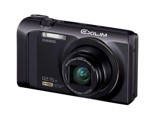 Casio High Speed Exilim Ex-zr200 Digital Camera Black Ex-zr200bk