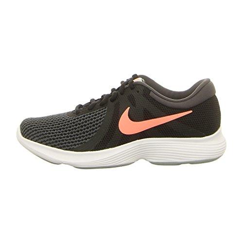 Nike Ladies Wmns Revolution 4 Eu Scarpe Da Corsa Nero / Nero Antracite.