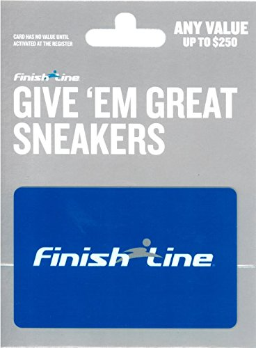 online store 4872e a02ca Amazon.com  Finish Line Gift Card  25  Gift Cards