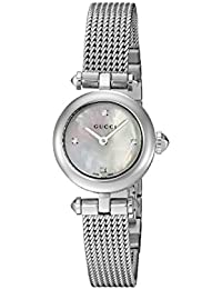 Swiss Quartz Stainless Steel Dress Silver-Toned Women's Watch(Model: YA141512)