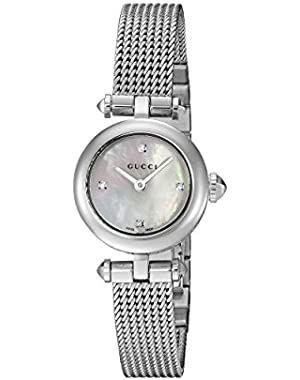 Swiss Quartz Stainless Steel Dress Silver-Toned Women's Watch(Model: YA141512)
