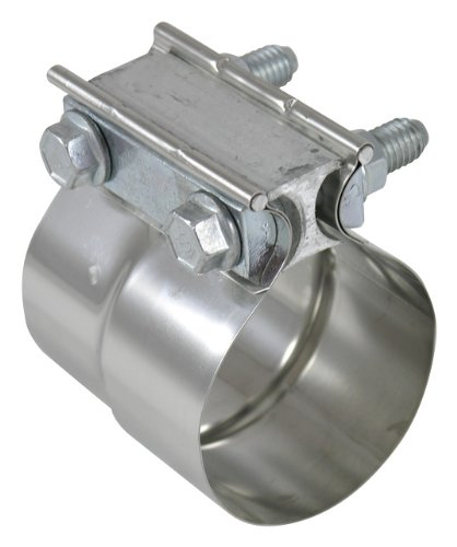 Torca TorcTite Preformed Slip Fit Exhaust Clamp, 304 Stainless Steel - 2.25' 304 Stainless Steel - 2.25