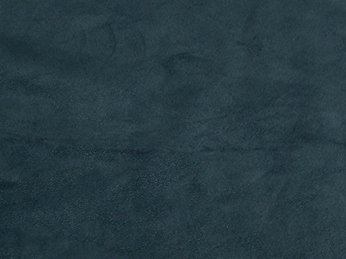 Upholstery Micro Suede Headliner Fabric by The Yard (Navy Blue) ()