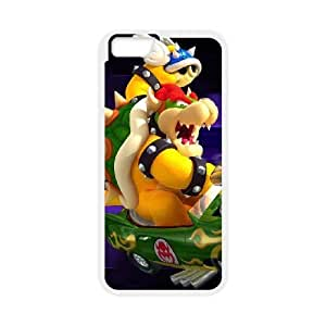 iphone6s 4.7 inch case , Super Smash Bros Bowser iphone6s 4.7 inch Cell phone case White-YYTFG-22511