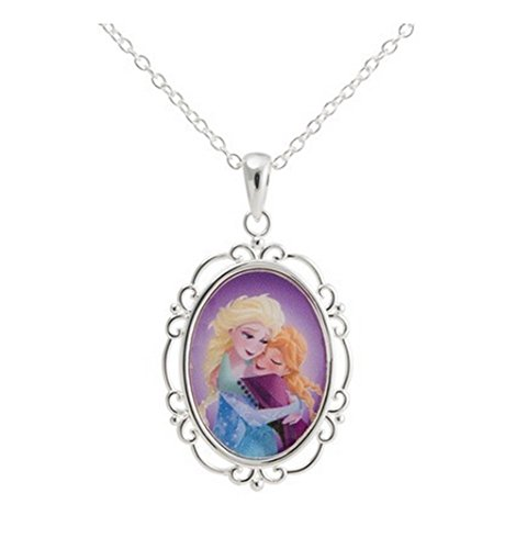 Disney Frozen Silver Plated Princess Hugging