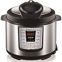 Instant Pot LUX60V3 V3 6 Qt 6-in-1 Multi-Use Programmable Pressure Cooker, Slow Cooker, Rice Cooker, Sauté, Steamer, and Warmer (Certified Refurbished)