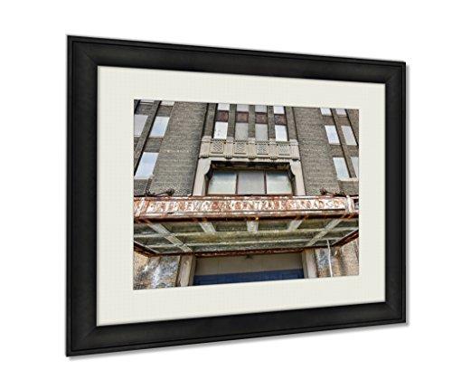 Ashley Framed Prints, Buffalo Central Terminal New York, Wall Art Decor Giclee Photo Print In Black Wood Frame, Ready to hang, 16x20 Art, AG5579623 (Central Terminal Buffalo)