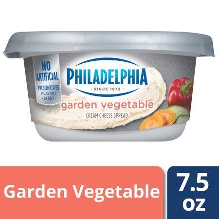 Expect More Philadelphia Garden Vegetables Cream Cheese Spread, 1 ct. / 7.5 oz (Vegetable Cheese Spread)